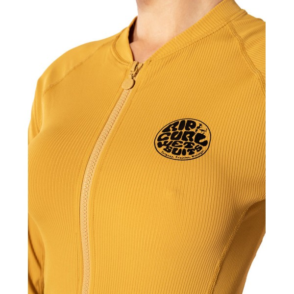 <strong>RIP CURL</strong> LYCRA PREMIUM RIB FRONT-ZIP LS W. <em>2020</em>