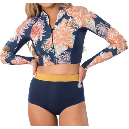 <strong>RIP CURL</strong> NEOPRENE SHIRT G-BOMB CROP TOP FZ W. <em>2020</em>