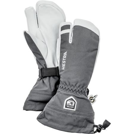 HESTRA GLOVE ARMY LEATHER HELI SKI 3-FINGER 2020